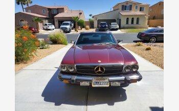 1986 Mercedes-Benz 500SL for sale 101540037