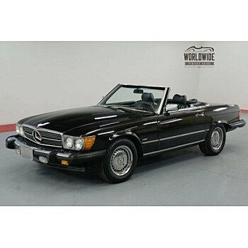 1986 Mercedes-Benz 560SL for sale 101025819