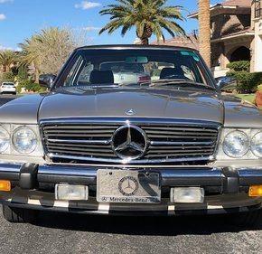 1986 Mercedes-Benz 560SL for sale 101111033