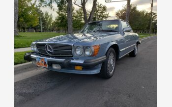 1986 Mercedes-Benz 560SL for sale 101221893