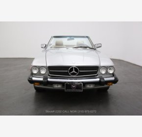 1986 Mercedes-Benz 560SL for sale 101352486