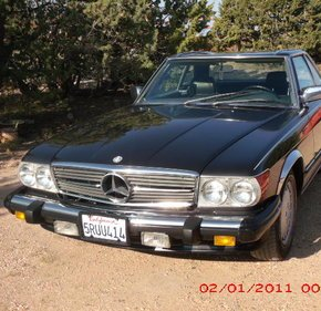 1986 Mercedes-Benz 560SL for sale 101391295