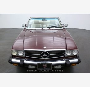 1986 Mercedes-Benz 560SL for sale 101402407