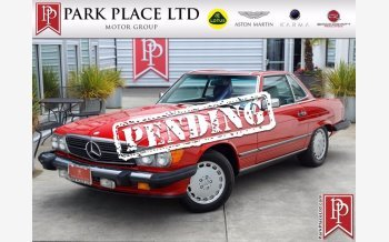 1986 Mercedes-Benz 560SL for sale 101543848