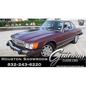 1986 Mercedes-Benz 560SL for sale 101576020