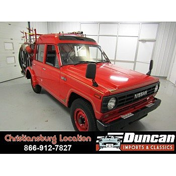 1986 Nissan Other Nissan Models for sale 101013864