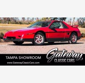 1986 Pontiac Fiero SE for sale 101460512