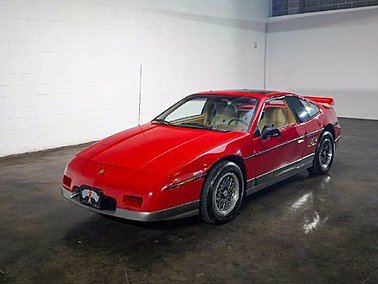 1986 Pontiac Fiero GT for sale 101544475