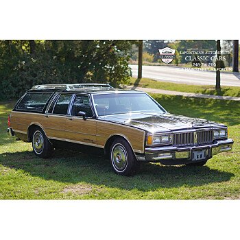 1986 Pontiac Parisienne Wagon for sale 101370590