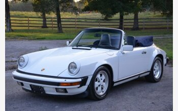 1986 Porsche 911 Carrera Cabriolet for sale 101005540