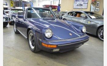 1986 Porsche 911 Carrera Cabriolet for sale 101123933