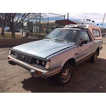 1986 Subaru Brat for sale 101530648