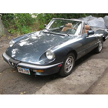 1987 Alfa Romeo Spider for sale 101009374