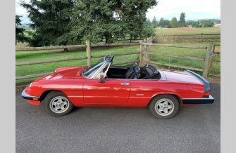 1987 Alfa Romeo Spider Veloce for sale 101202525