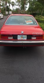 1987 BMW 635CSi Coupe for sale 101324751