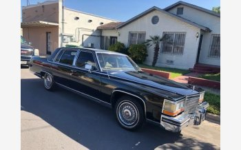 1987 Cadillac Brougham for sale 101448449