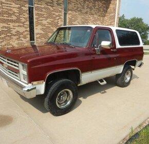 1987 Chevrolet Blazer 4WD for sale 101017625
