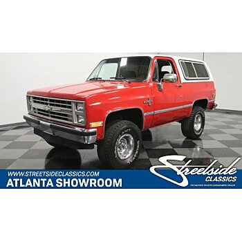 1987 Chevrolet Blazer 4WD for sale 101216967