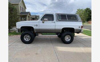 1987 Chevrolet Blazer 4WD for sale 101343169