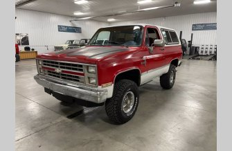 1987 Chevrolet Blazer 4WD for sale 101465637