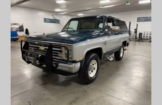 1987 Chevrolet Blazer 4WD for sale 101508131