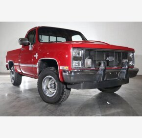 1987 Chevrolet C/K Truck Silverado for sale 101391998
