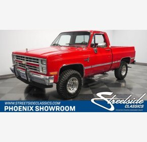 1987 Chevrolet C/K Truck 4x4 Regular Cab 1500 for sale 101408018