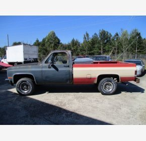 1987 Chevrolet C/K Truck 4x4 Regular Cab 1500 for sale 101440270
