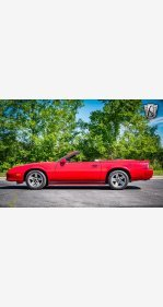 1987 Chevrolet Camaro Convertible for sale 101338240
