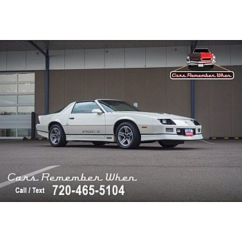 1987 Chevrolet Camaro for sale 101352637