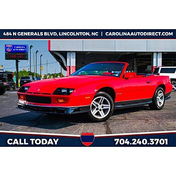 1987 Chevrolet Camaro for sale 101563408
