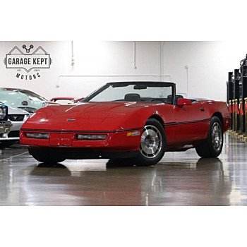 1987 Chevrolet Corvette Convertible for sale 101071825