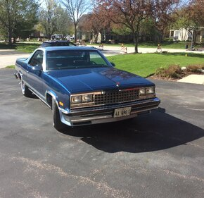 1987 Chevrolet El Camino V8 for sale 101319849