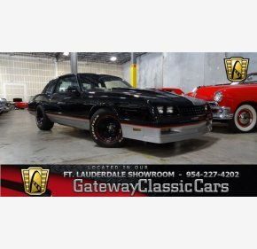 1987 Chevrolet Monte Carlo SS for sale 101066354