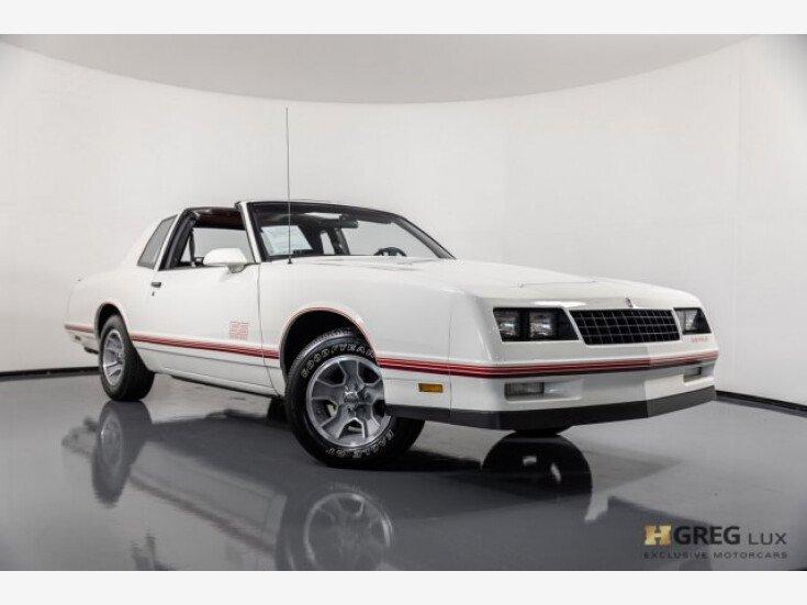 1987 Chevrolet Monte Carlo SS for sale near Pompano Beach