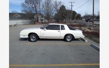 1987 Chevrolet Monte Carlo SS for sale 101105163