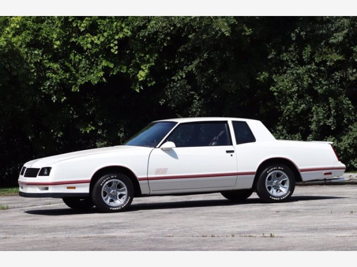 1987 Chevrolet Monte Carlo Ss For Sale Near Alsip Illinois 60803 Classics On Autotrader