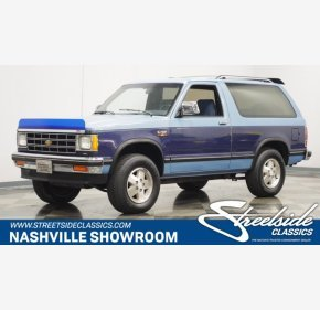 1987 Chevrolet S10 Blazer for sale 101433759