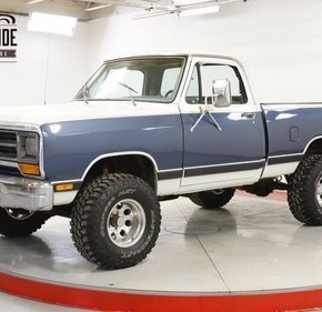 1987 Dodge D/W Truck 4x4 Regular Cab W-150 for sale 101332182