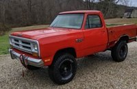 1987 Dodge D/W Truck 4x4 Regular Cab W-150 for sale 101460096