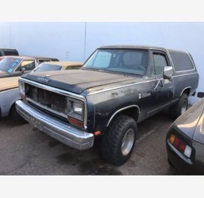 1987 Dodge Ramcharger for sale 101078762