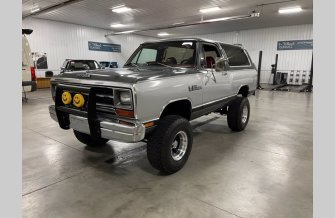 1987 Dodge Ramcharger for sale 101439131