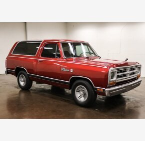 1987 Dodge Ramcharger 2WD for sale 101479689