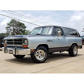 1987 Dodge Ramcharger for sale 101530673