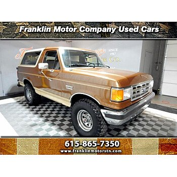 1987 Ford Bronco for sale 101452620