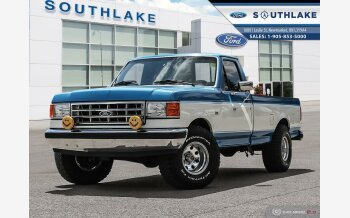 1987 Ford F150 4x4 Regular Cab for sale 101605175