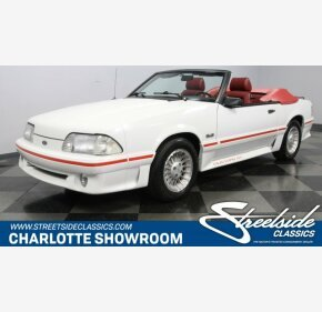 1987 Ford Mustang GT Convertible for sale 101234398