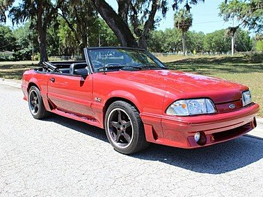 1987 Ford Mustang GT for sale 101307224