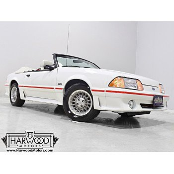 1987 Ford Mustang GT Convertible for sale 101384988