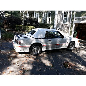 1987 Ford Mustang Convertible for sale 101398667